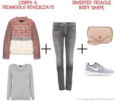 inverted body shape | ... faux fur for the inverted triangle body shape | a Designer in Fashion