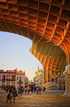"""Plaza de la Encarnación, """"Las Setas"""", Sevilla"""