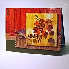 Janine Tinklenberg: Stamps, Paper, Scissors: Fab Friday - Challenge 49 - For All Things - 8/29/14