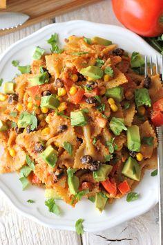 Spicy Chipotle Pesto Pasta (sub vegenaise for yogurt - elim parmesan in pesto)