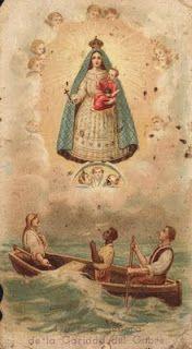 Estampas antiguas: Virgen del Cobre