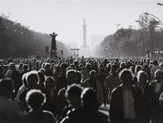 A picture of Berlin on the 3rd of October 1990. October 3rd is special as it is the date on which Germany the process of reuniting Germany was completed.