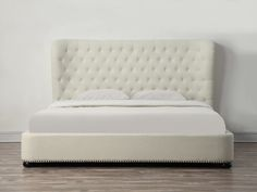 Vera Upholstered Platform Bed