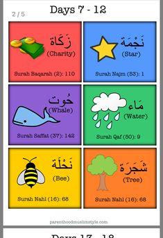 gimayhiu - 0 results for kids Islam Beliefs, Islamic Teachings, Islamic Quotes, Learn Quran, Learn Islam, Ramadan Activities, Activities For Kids, Tajweed Quran, Learn Arabic Online