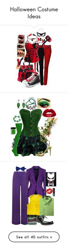 """Halloween Costume Ideas"" by secretsoftheslytherin ❤ Halloween Make, Halloween Cosplay, Halloween Costumes, Diy Costumes, Cosplay Costumes, Fancy Dress, Dress Up, Poison Ivy Costumes, Hallowen Ideas"