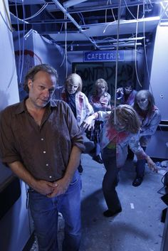 Greg Nicotero, is co-executive producer, director and special effects make-up designer, The Walking Dead