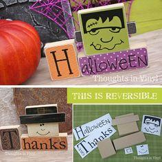 Reversible Frankenstein & Pilgrim blocks  |