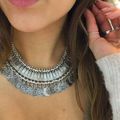 Bohemian style coin necklace Brand new in package ✅ length 45cm. ✅✅✅ADD TO BUNDLE & SAVE Jewelry Necklaces