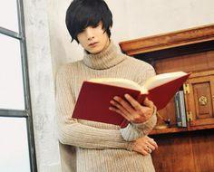 Won Jong Jin, Kpop Boy, Kawaii, Reading, Boys, Sexy, Model, Fashion, Baby Boys