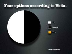 Your options according to Yoda.