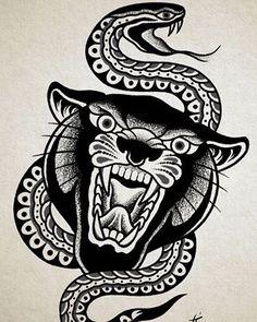 Black Book by Samuele Briganti Traditional Tattoo Cuff, Traditional Tattoo Black And White, Traditional Panther Tattoo, Traditional Tattoo Old School, Elbow Tattoos, Leg Tattoo Men, Old Style Tattoos, Old School Tattoo Sleeve, Tatuagem Old Scholl