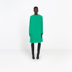 BALENCIAGA MULTI STYLING DRESS | Tent dress with opened armhole