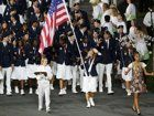 U.S. athletes at the Opening Ceremony