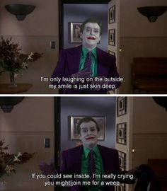 Batman Quotes, Joker Quotes, Movie Quotes, Batman Stuff, Im Batman, Fresh Movie, The Big Boss, Everything Is Awesome, Jack Nicholson