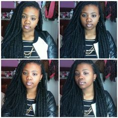 Small marley twists done by me. I loveee them. Check my video out on YouTube about them: http://www.youtube.com/watch?v=TkiJS1d0BdE