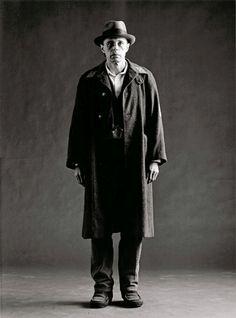 Joseph Beuys, 1972 -by Floris M. Neusüss