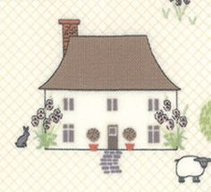 Cottontail Cottage fabrics by Bunny Hill!