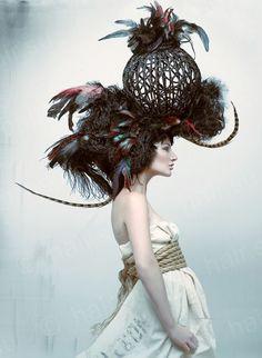 HAIR OR HAT??? Невероятный авангард от Palma Anshilevich! Phото: Babak