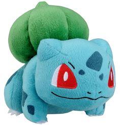 "Inspiration for face Amazon.com : Takaratomy New Pokemon N-08 X and Y Bulbasaur/Fushigidane 5.5"" Plush Doll : Plush Animal Toys : Toys & Games"