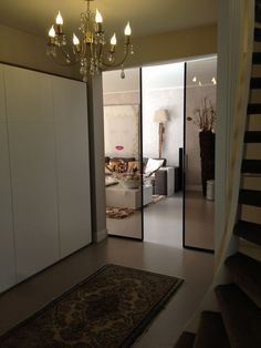 Proud of this project! Rimadesio doors are beautiful! Italian elegance