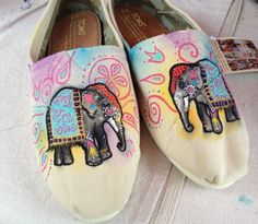 Indian Elephant Toms!