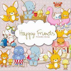 free happy friends kit 2