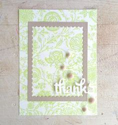 Lindsey @ Occasional Crafting: 12 Kits of Occasions - March March 12th, Handmade Cards, Thank You Cards, Om, Crafting, Frame, Craft Cards, Appreciation Cards, Picture Frame