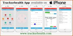 Get Trackurhealth Mobile App - The best way to track and diagnose your health. Now available for iPhone®, iPad® and iPod touch® devices on iPhone store. Open iTunes to buy and download apps.