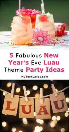 You don't have to head to Hawaii to ring in the New Year Luau style! Take a break from winter's chill and host a New Year's Eve Luau theme party to brighten everyone's spirits! We'll show you how!
