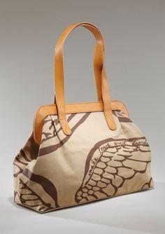 Safari Frame Bag by Make Love Not Trash: On sale $109.