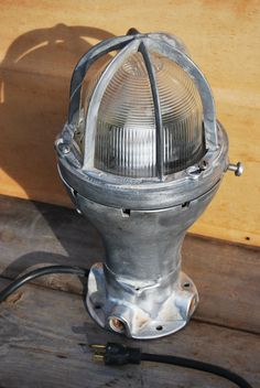 Vintage Industrial Explosion Proof Light Fixture by Psychedelphia, $150.00