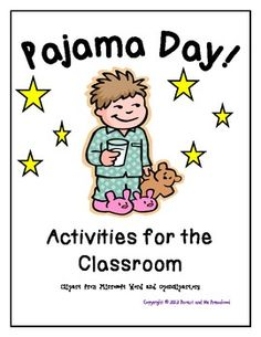 pajama day worksheet - Google 검색