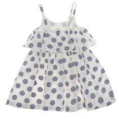 Keep your little one cool and comfortable with this adorable white and navy blue polka dot dress for toddler girl and elevate their sunny day style. View our range for more casual and formal dresses. Girls Navy Dress, Toddler Girl Dresses, Made Clothing, Blue Polka Dots, Dot Dress, Summer Dresses, Formal Dresses, Latest Trends, Fashion Dresses