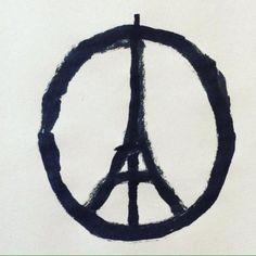 #Paris #Peace @jean_jullien instagram.com