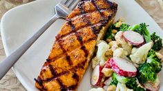 Thanks to Mashable for including my Grilled Salmon with Maple Sriracha Lime Glaze in 9 Hottest Summer Grilling Recipes!