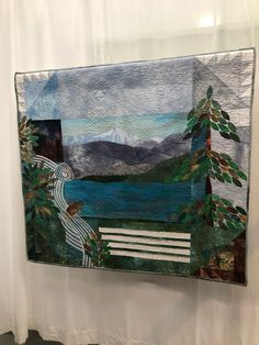 New Zealand, Tapestry, Quilts, Home Decor, Hanging Tapestry, Patch Quilt, Kilts, Interior Design, Log Cabin Quilts