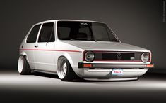wanted an old gti like this. Vw Caddy Mk1, Vw Cabriolet, Volkswagen Golf Mk1, Bmw E38, Golf Mk2, Grand Caravan, Top Cars, Dream Cars, Super Cars