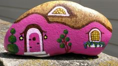 I painted this to hide. Joy Rocks 15501