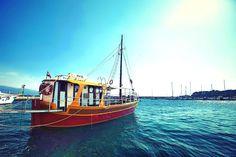 sightseeing boat #Krk #Croatia