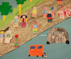 LEGO: ANEM A L'ESCOLA - Material: paper, colors, tisores, cola - Nivell: Acolliment (INF-CI) 2014-15