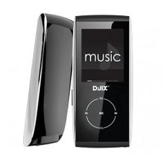 MP4 FM M330 player 4 Gb - black/silver + Stereo audio cable with volume control - 3 metres
