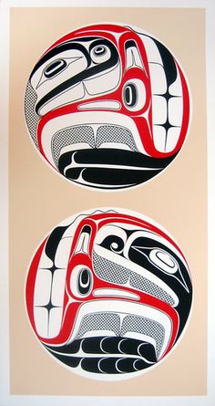 I Am You and You Are Me (2008) by Robert Davidson, Haida