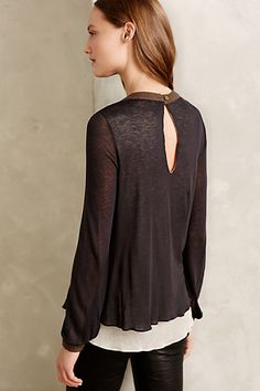 Layered Chalet Pullover by Amadi #anthrofave