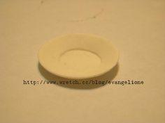 Evangelione: Mini Plate photo tutorial  用纸 粘 土 制 作 迷 你 碟 子