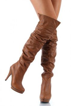 Long and brown leather boots, perfect for the Fall season. Grab a delicious bottle of MYX Moscato at MYXFusions.com and find out why we're the best!