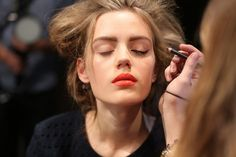 Dsquared2 Spring 2014 RTW Backstage Beauty at Milan Fashion Week_4