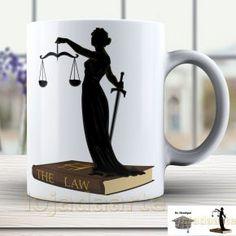 Caneca Direito Personalizada Formatura Advogado - detalhe 1