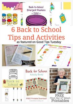 6 Back to School Tip