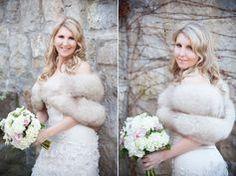 Winter Wedding Fur, Winter Wedding Bridesmaids, Winter Wedding Outfits, Winter Bride, Brides And Bridesmaids, Vintage Fur, Vintage Bridal, Vintage Glamour, Winter Wedding Inspiration