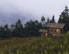 """Check out new work on my @Behance portfolio: """"FOREST HOUSE"""" http://be.net/gallery/57664133/FOREST-HOUSE"""